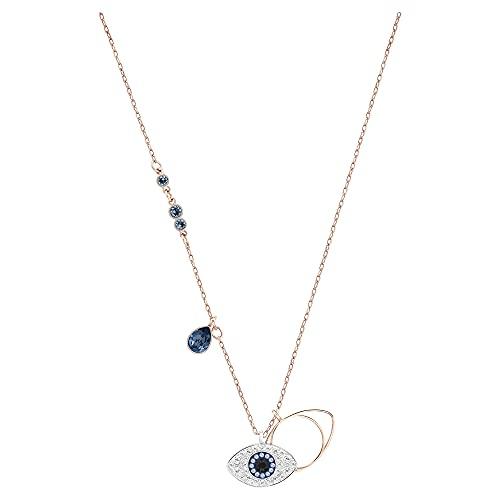 Swarovski Colgante Swarovski Symbolic Evil Eye, azul, Combinación de acabados...