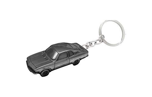 coche clásico Opel Manta ref173 coche llavero clásico efecto peltre