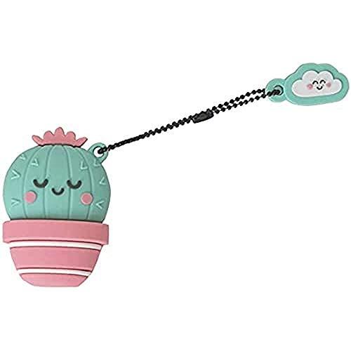 Mr. Wonderful Pendrive USB de 32 Gigabytes con forma de Cactus