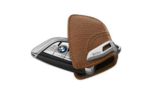 BMW Original Estuche Llavero con Inoxidable Pasador - Sattelbraun
