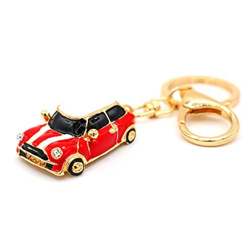 VmG-Store Mini llavero de metal con diseño de coche de Cooper, regalo para...