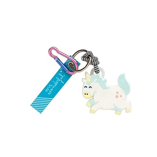 Mr. Wonderful Keyring - Unicorn, WOA11245SM