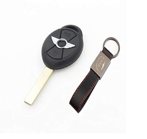 Carcasa Funda Llave Remoto Mando 2 Botones para Mini Cooper S One D Cabrio con...