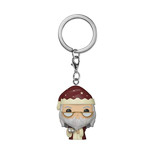 Funko- Pop Keychain Harry Potter Holiday-Dumbledore S11 Figura coleccionable,...
