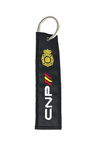 Llavero Policía Nacional CNP Bordado