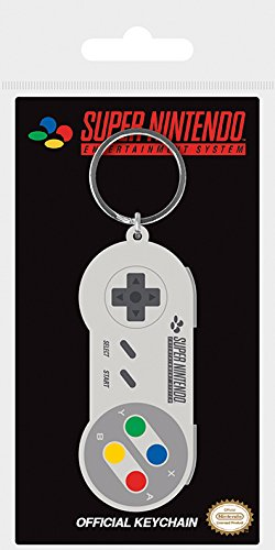 Pyramid International Nintendo - Llavero Snes Controler, Multicolor, 4 x 6 x 1.3...