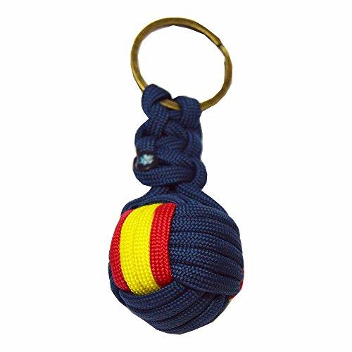 Llavero Bola Nylon ESPAÑA. Fabricado en España. Enviamos por AGENCIA.