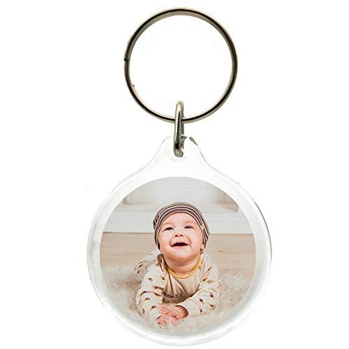 Llavero con foto personalizable, idea de regalo