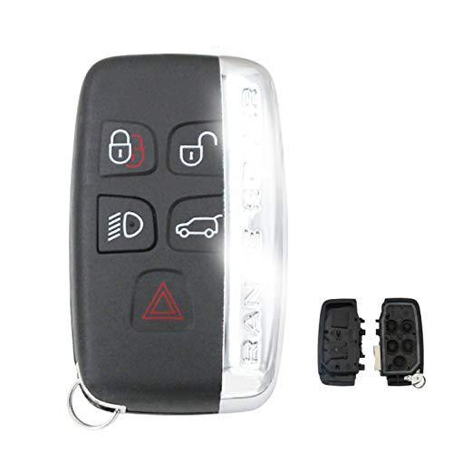 Carcasa de llave de coche remota de 5 botones para Land Rover Discovery 4 /...
