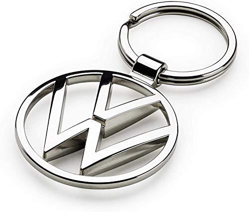 Volkswagen 000087010BN - Llavero de metal con colgante, diseño, color plateado