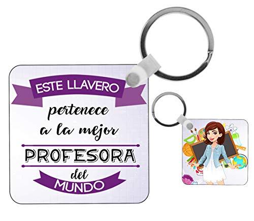 Kembilove Llavero de Profesora – Este Llavero Pertenece a la Mejor Profesora...