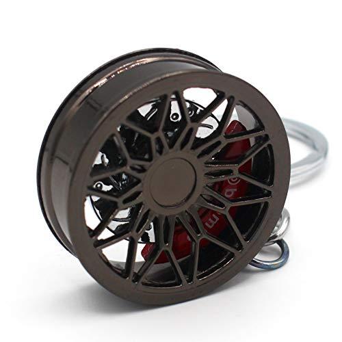 VmG-Store Llavero de llanta de metal, diseño 125 colgantes para llaves (cromo...