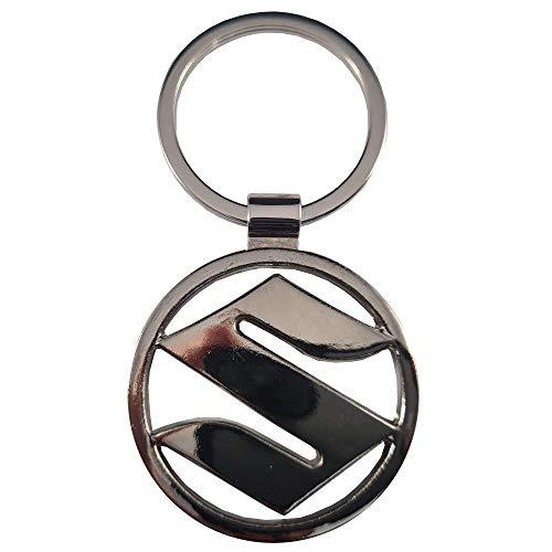 Ludostreet Llavero de Metal Compatible con Marcas de Coche (Suzuki)