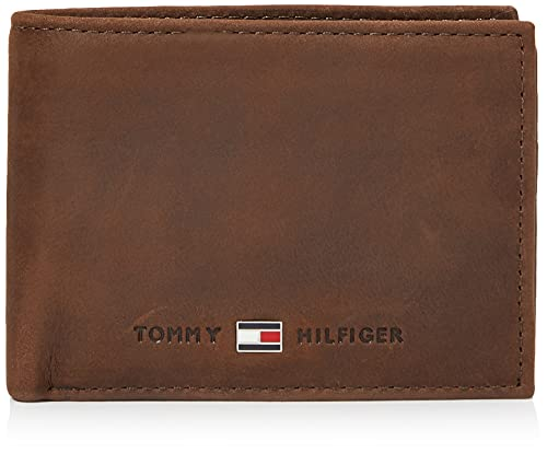 Tommy Hilfiger Johnson Mini CC Flap and Coin Pocket, Cartera Hombre^Mujer,...