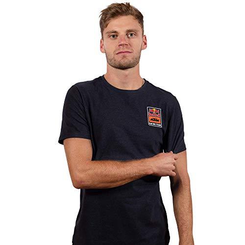 Red Bull KTM Patch T-Camisa, Azul Hombres Small Camisa Manga Larga, KTM Racing...