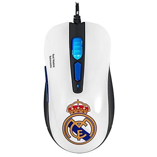 Mars Gaming MMRM, Ratón Gaming Oficial Real Madrid, Ergonómico,...
