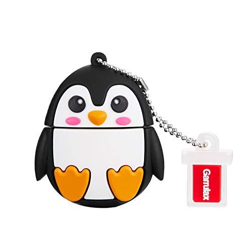 Garrulax Memoria USB, Pendive USB 2.0, Premium Impermeable Cute Animal Silicona...