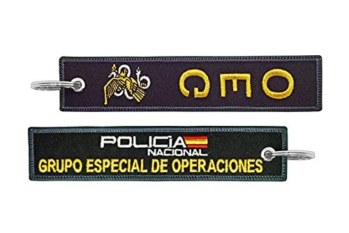 Llavero GEO Grupo Especial de Operaciones unidad de élite del Cuerpo Nacional...