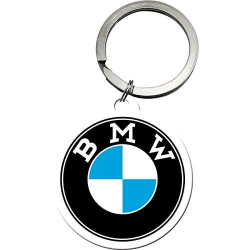Nostalgic-Art BMW 48033 - Llavero redondo (4 cm)