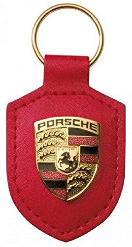 Porsche Llavero de Cuero con Cresta WAP0500920E