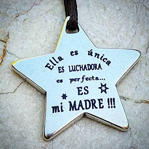 Regalo Madre - Llavero Madre - Regalo Mama - Llavero Mama - Dia de la Madre -...