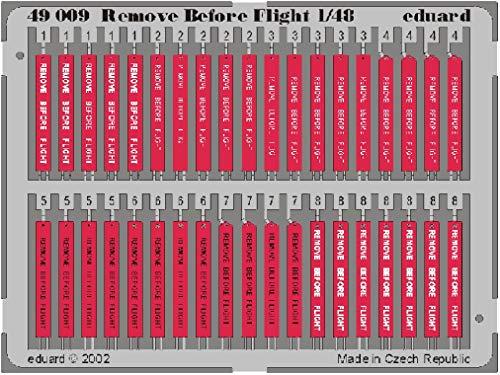 Eduard Accessories- Remove Before Flight - Accesorios para maquetas (49009)