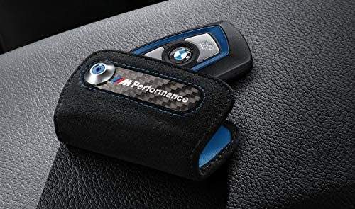 BMW Original llavero M Performance Alcantara/Carbon F20 F21 F22 F23 F87 F45 F30...